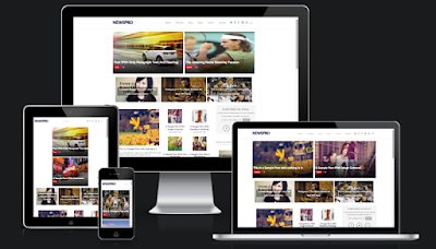 News Mag/News Pro Blogger Theme