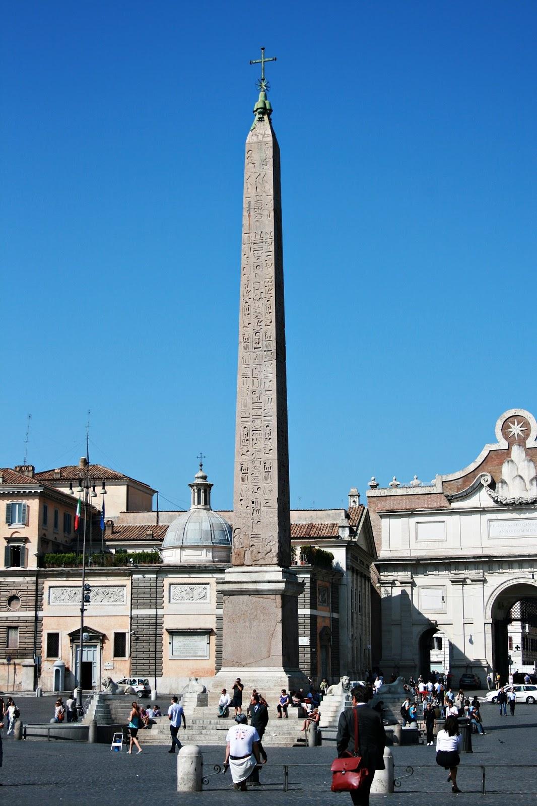Piazza del Popolo i Villa Borghese