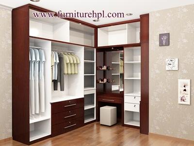 Model lemari yang cocok ditempatkan di sudut ruangan, REFERENSI RUMAH