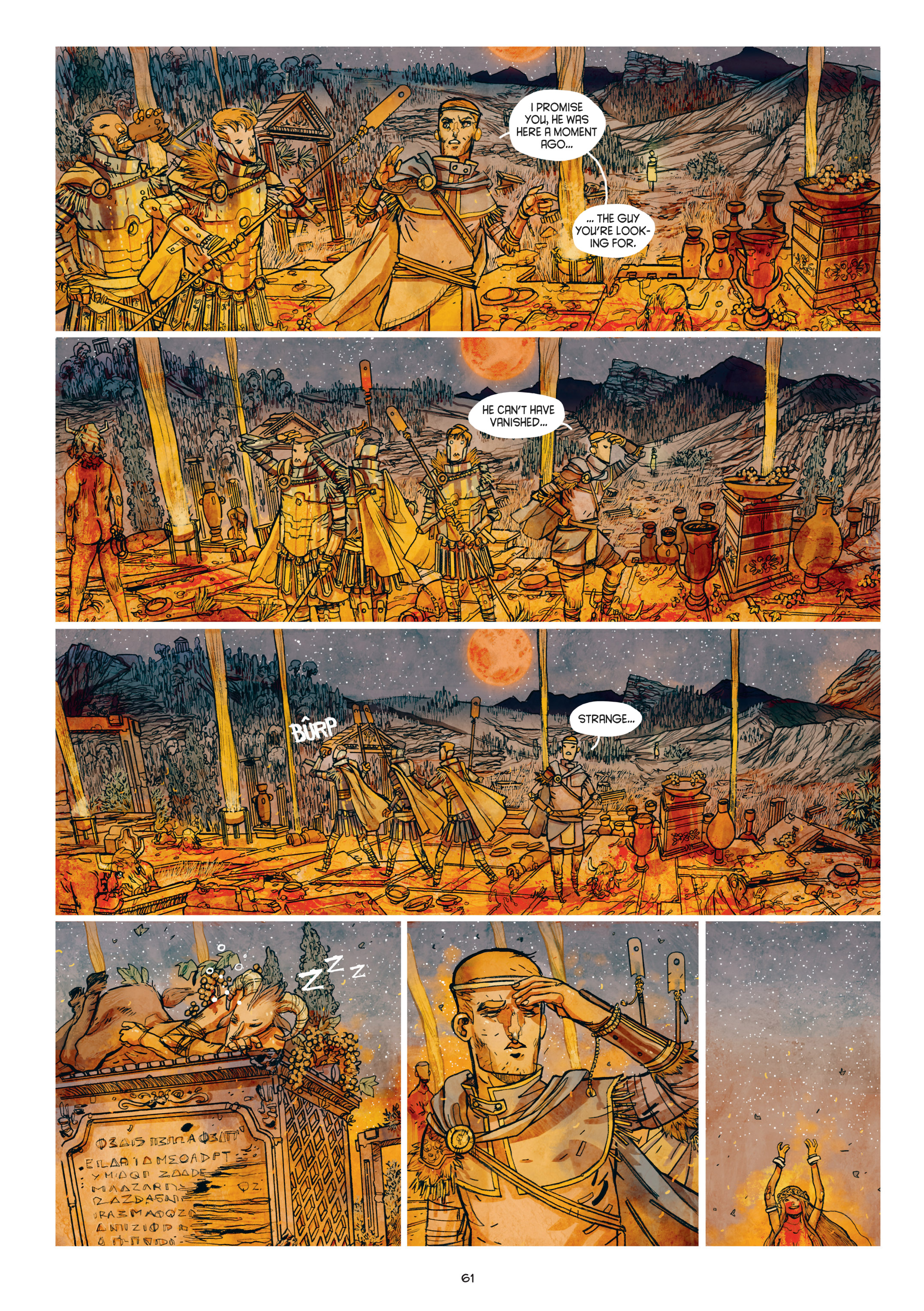 Read online Adrastée comic -  Issue #1 - 62