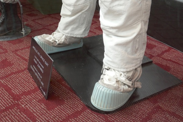 First Man Apollo A7L spacesuit boots