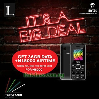 Get 36GB Data Plus N15,000 Airtime on Airtel NG for 6 Months