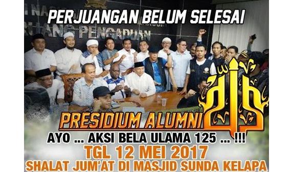 Perjuangan Belum Selesai! Gelar 'Aksi Bela Ulama 125', Alumni 212 Minta Perlindungan ke Komnas HAM
