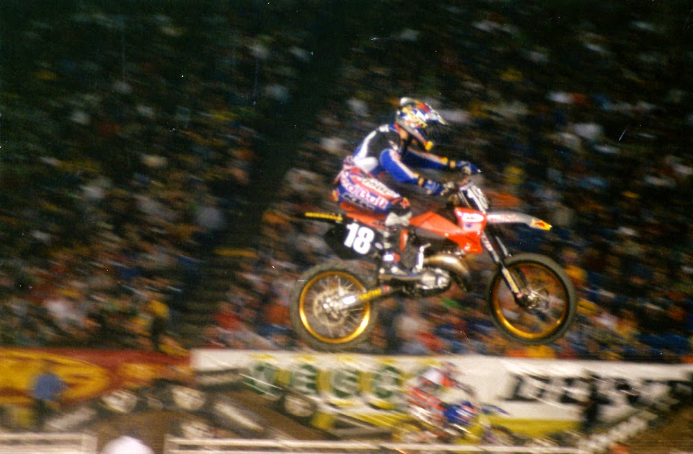 Brock Sellards Pontiac Supercross 2001