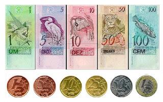 Billetes y monedas brasileñas, Brasil, La vuelta al mundo de Asun y Ricardo, round the world, mundoporlibre.com