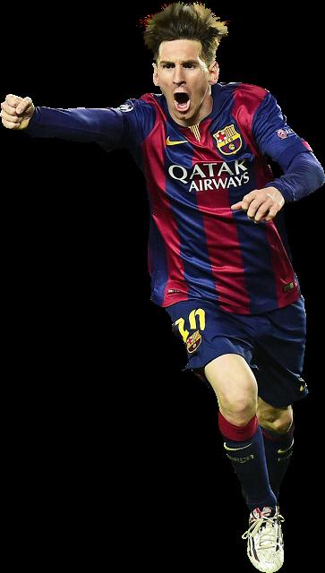 Renders Backgrounds LogoS: Messi