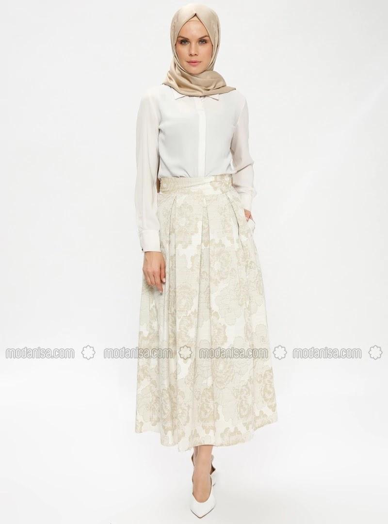 Hijab Chic Turque Avec Robe Longue été 2019