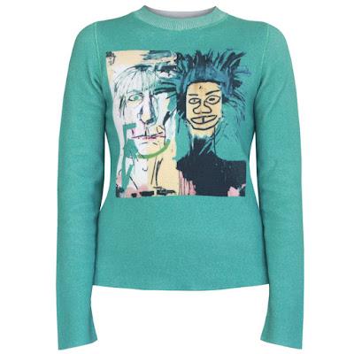 lucien pellat finet basquiat sweater