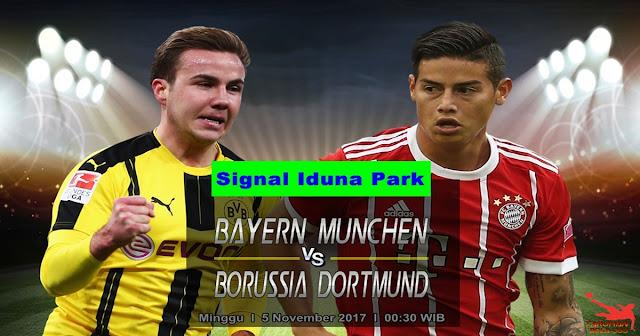 Prediksi Taruhan Borussia Dortmund vs Bayern Munchen 5 November 2017