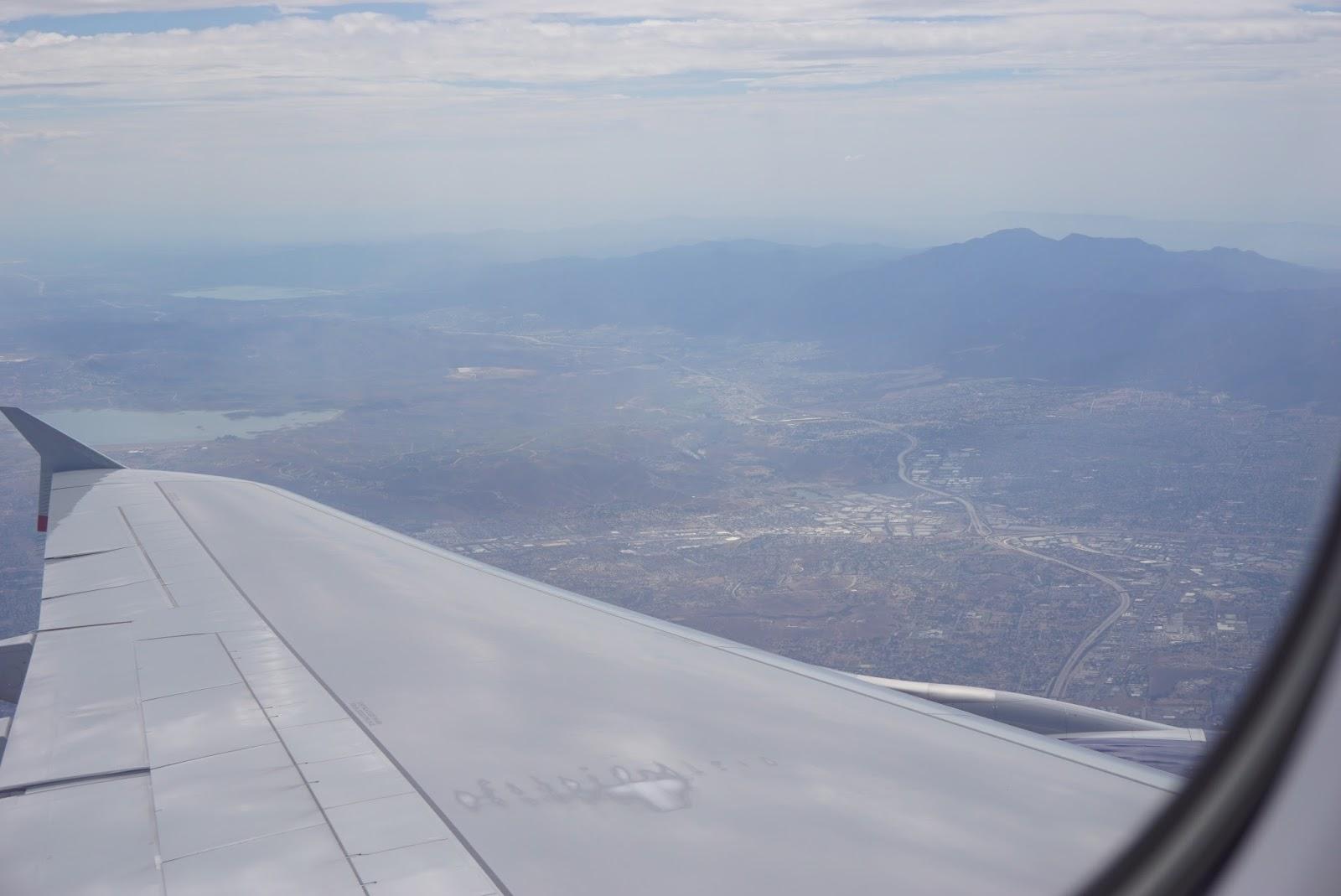 Ariel view of LA