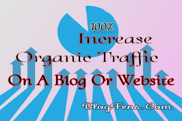 Increase Organic Traffic On A Blog Or Website