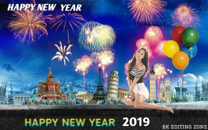 Happy New Year Editing Background 21