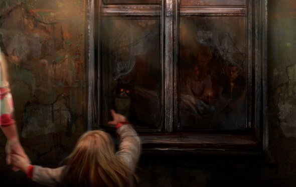 Deine Reflexion (Oleg Pasynkov e Olga Maslennikova) artstation arte ilustrações sombrias terror fantasia