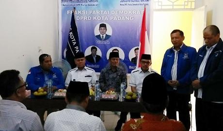 DPC Demokrat Kota Padang Targetkan 12 Kursi di Pileg 2019