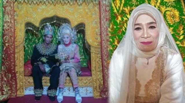 Viral, Pemuda 25 Tahun Menikah dengan Wanita 60 Tahun, Ini Pesannya Buat Para Jomblo
