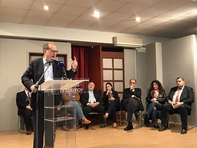 Με συμμετοχή του κόσμου η ομιλία Νίκα στο Λυγουριό