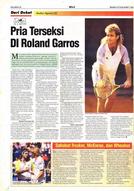 Dari Dekat: Andre Agassi