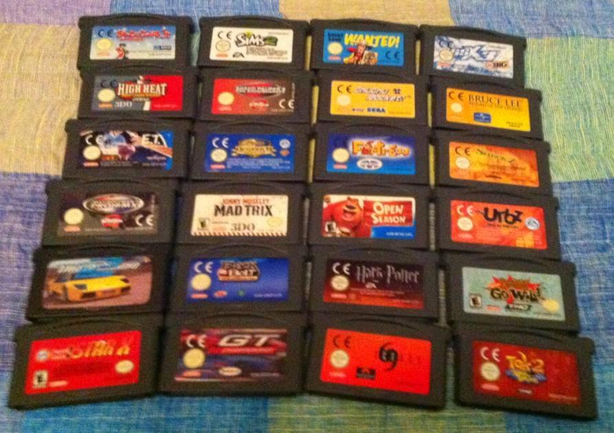 Juegos De Game Boy Advance A 5 Todos Mismo Precio Nintendo