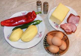 retete cu oua cascaval ardei kaizer si cartofi, cum se fac cosuletele de cartofi, cum facem cosulete din cartofi rasi, cum facem mini omlete si mini pizza, retete culinare de mancare rece sau calda, preparate din oua cascaval ardei kaizer si cartofi,