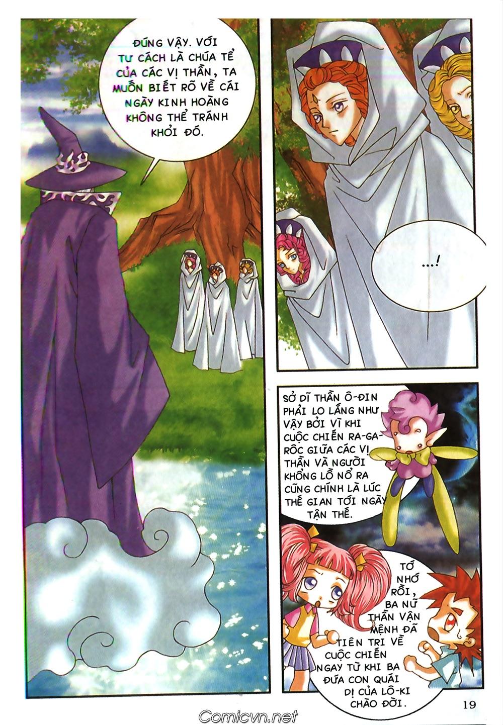 Thần thoại Bắc Âu - Chapter 48: Cuộc chiến Ragnarok - Pic 20