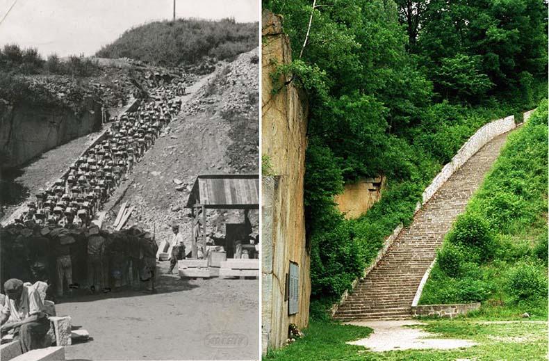 """La """"escalera de la muerte"""" de Mauthausen   Alemania, Austria"""