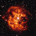 Tthe star Hen 2-427 with the nebula M1-67