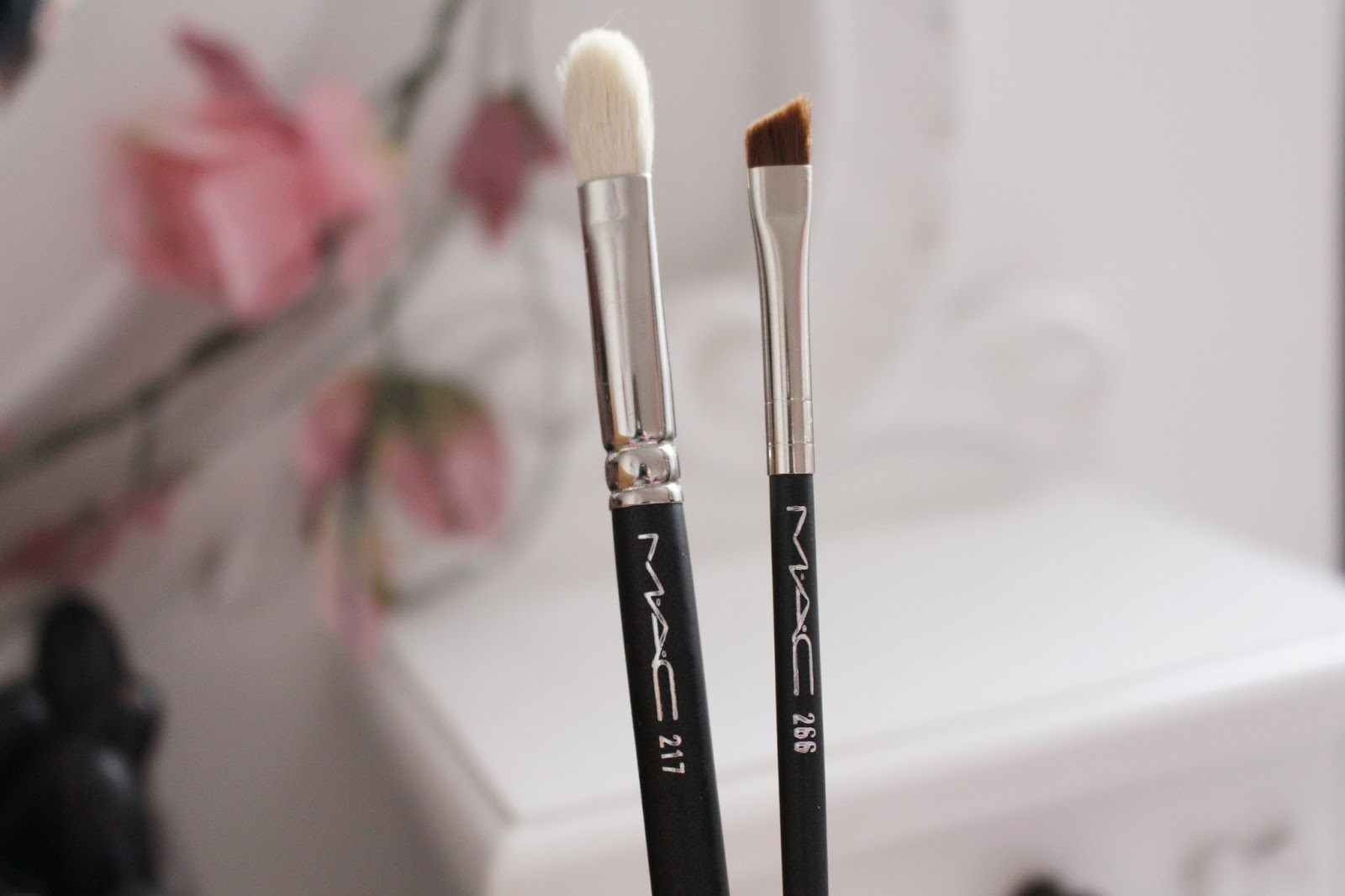 MAC Cosmetics Brushes in 217 and 266