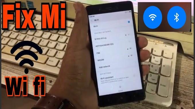 Redmi 6 pro me wifi problem ko fix kaise kare