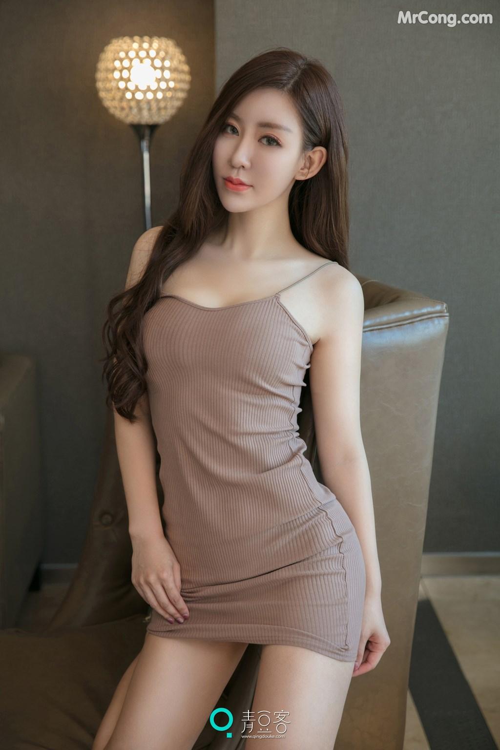 Image QingDouKe-2017-10-12-Qiao-En-Xi-MrCong.com-004 in post QingDouKe 2017-10-12: Người mẫu Qiao En Xi (乔恩夕) (54 ảnh)