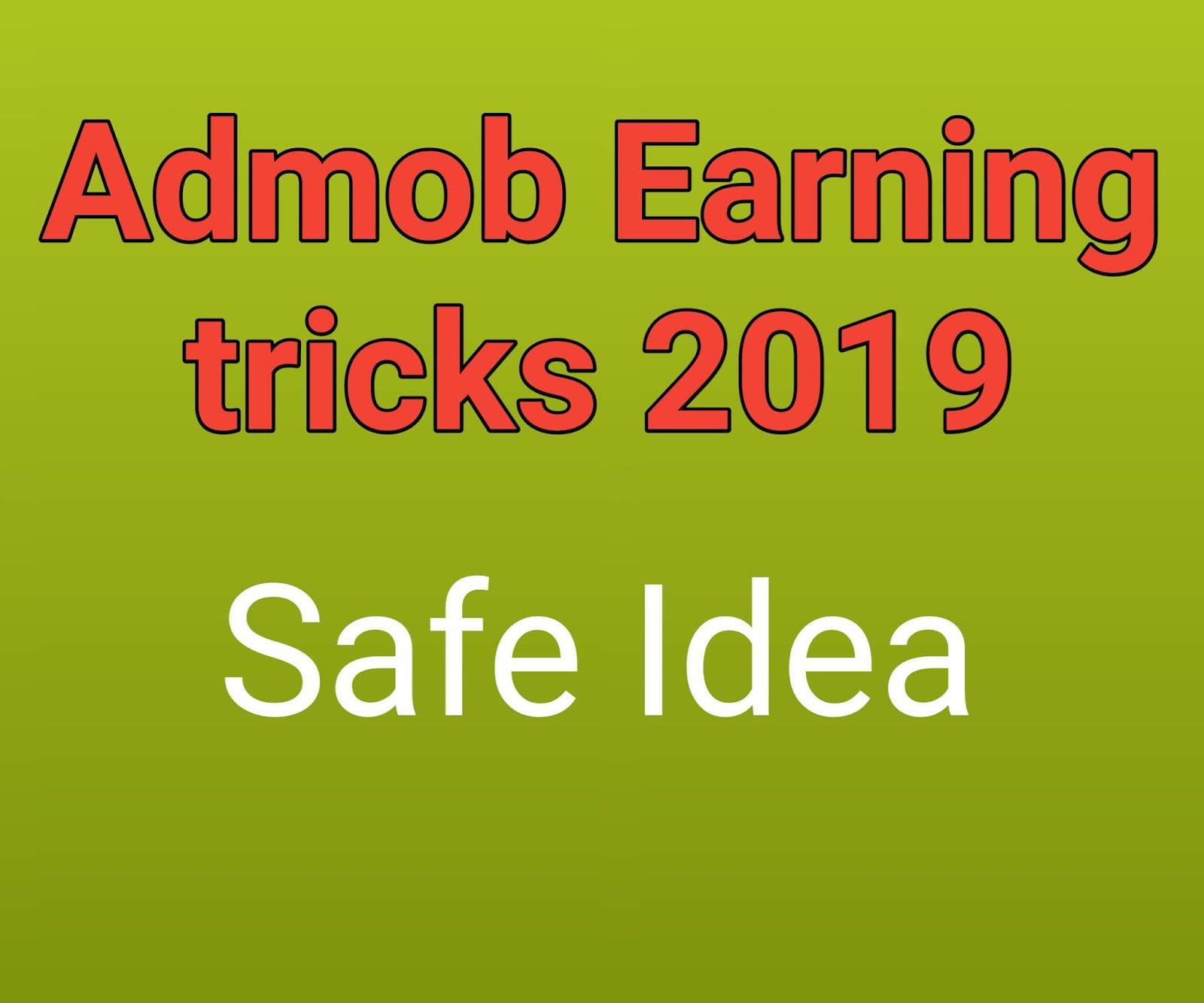 admob earning trick 2019 - Aspo xyz News