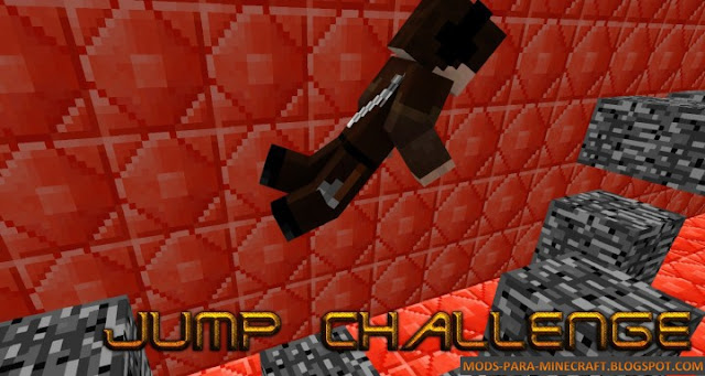 Jump Challenge - The Minecraft Challenges Mod para Minecraft 1.8