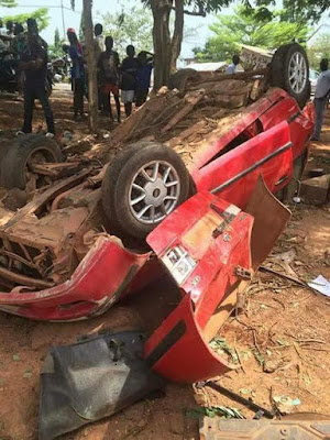 Graphic Photos: Four Final Year Nursing Students Killed In Fatal Auto Crash 2