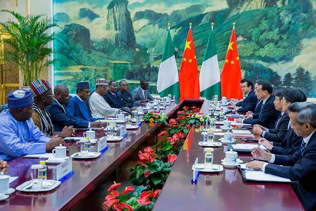 President Buhari's Trip To China In Pictures