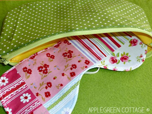 sleep mask free sewing pattern