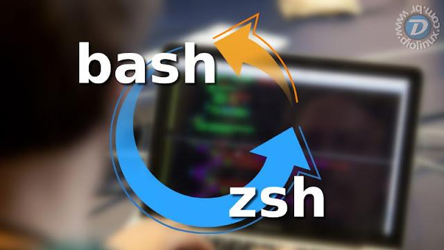 Substituindo o bash pelo ZSH