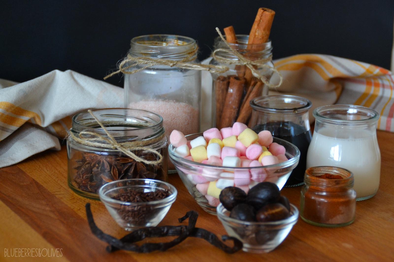 Ingredientes Chocolate caliente especiado 5