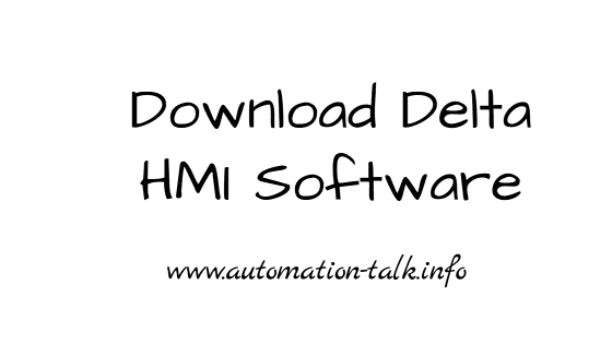 Download Delta HMI Software - Screen Editor