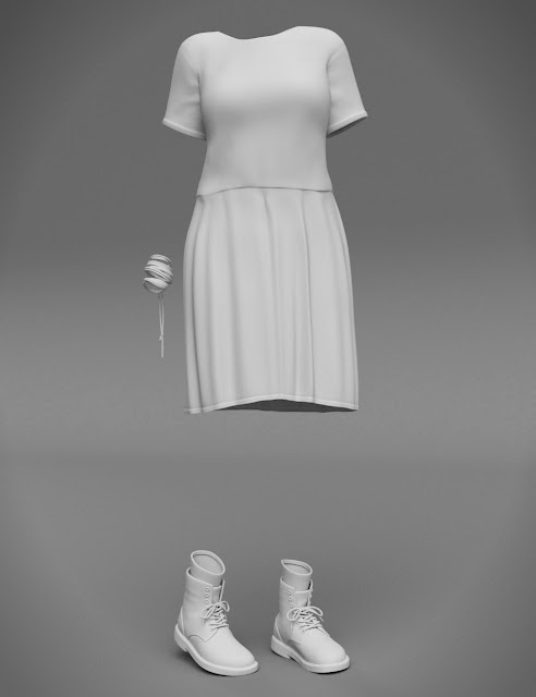 Missy Outfit for Genesis 3 Female