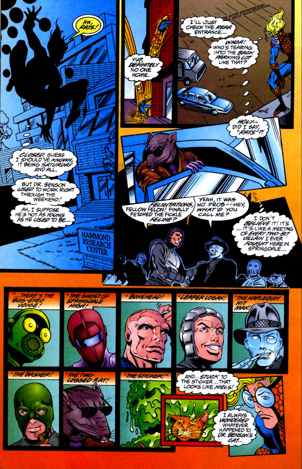The New Warriors Issue #66 #70 - English 13