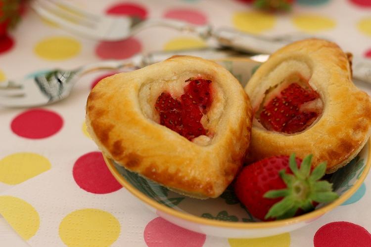 Erdbeer-Pie-Herzen 2