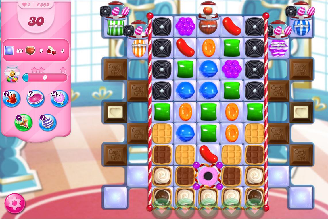Candy Crush Saga level 5392