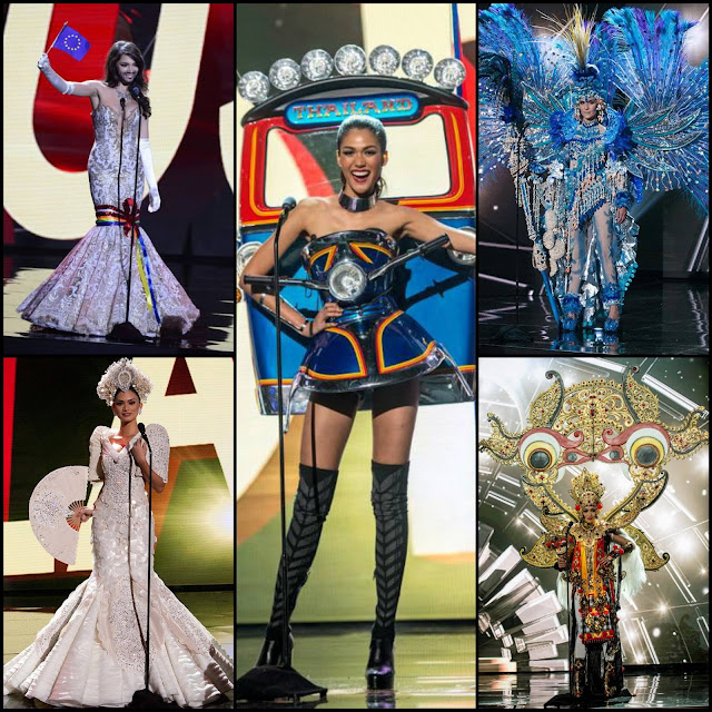 "SASHES AND TIARAS.....Miss Universe 2015 National Costumes: My Top 15 Favorites + a ""Special Mention"""