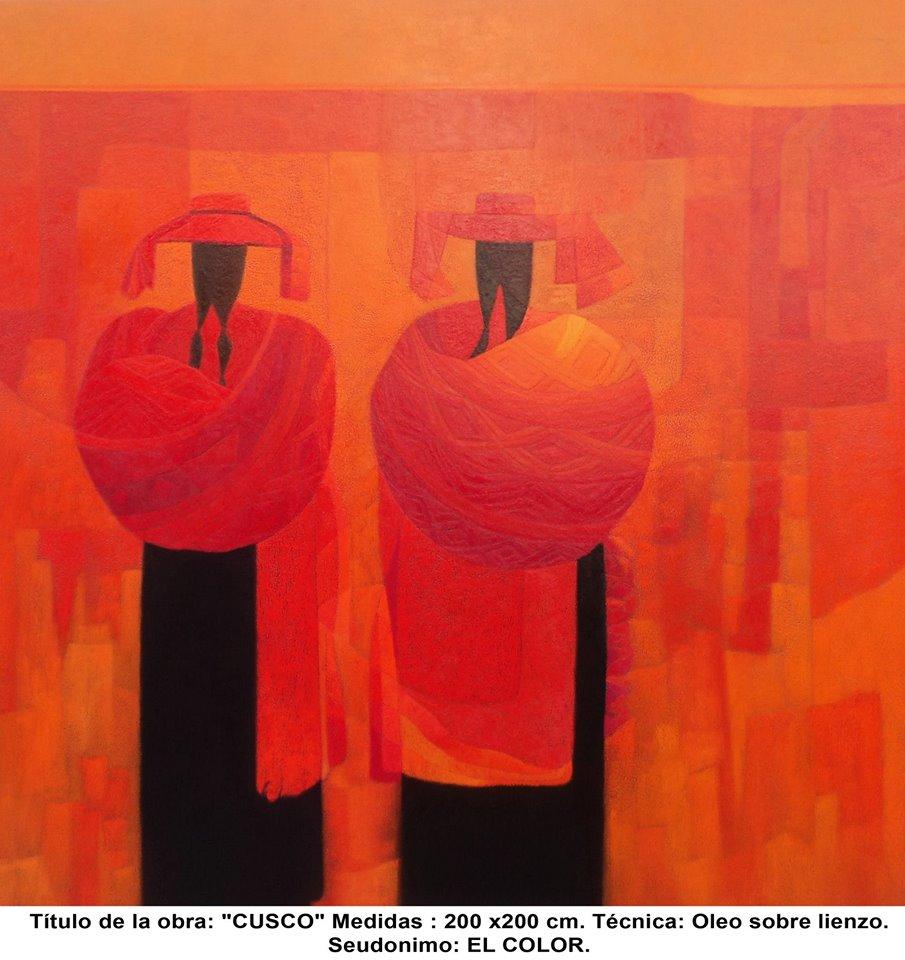 La mirada actual el pintor peruano leovigildo crist bal - Trabajos de pintor en madrid ...