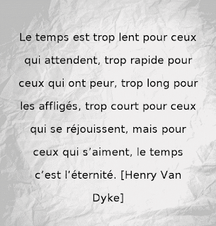 Citation d'amour, d'Henry Van Dyke.