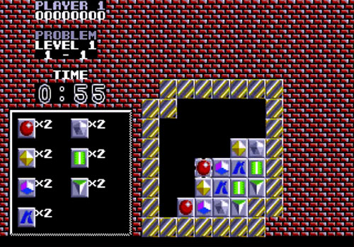 Puzznic Atari ST