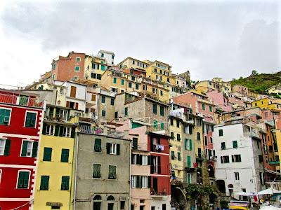 View of Riomaggiore, Italy