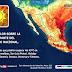 Temperaturas superiores a 45 grados Celsius se prevén en ocho entidades de México