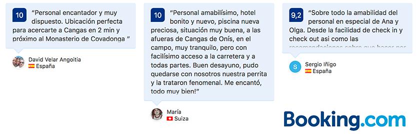 comentarios opiniones hotel angliru cangas de onis