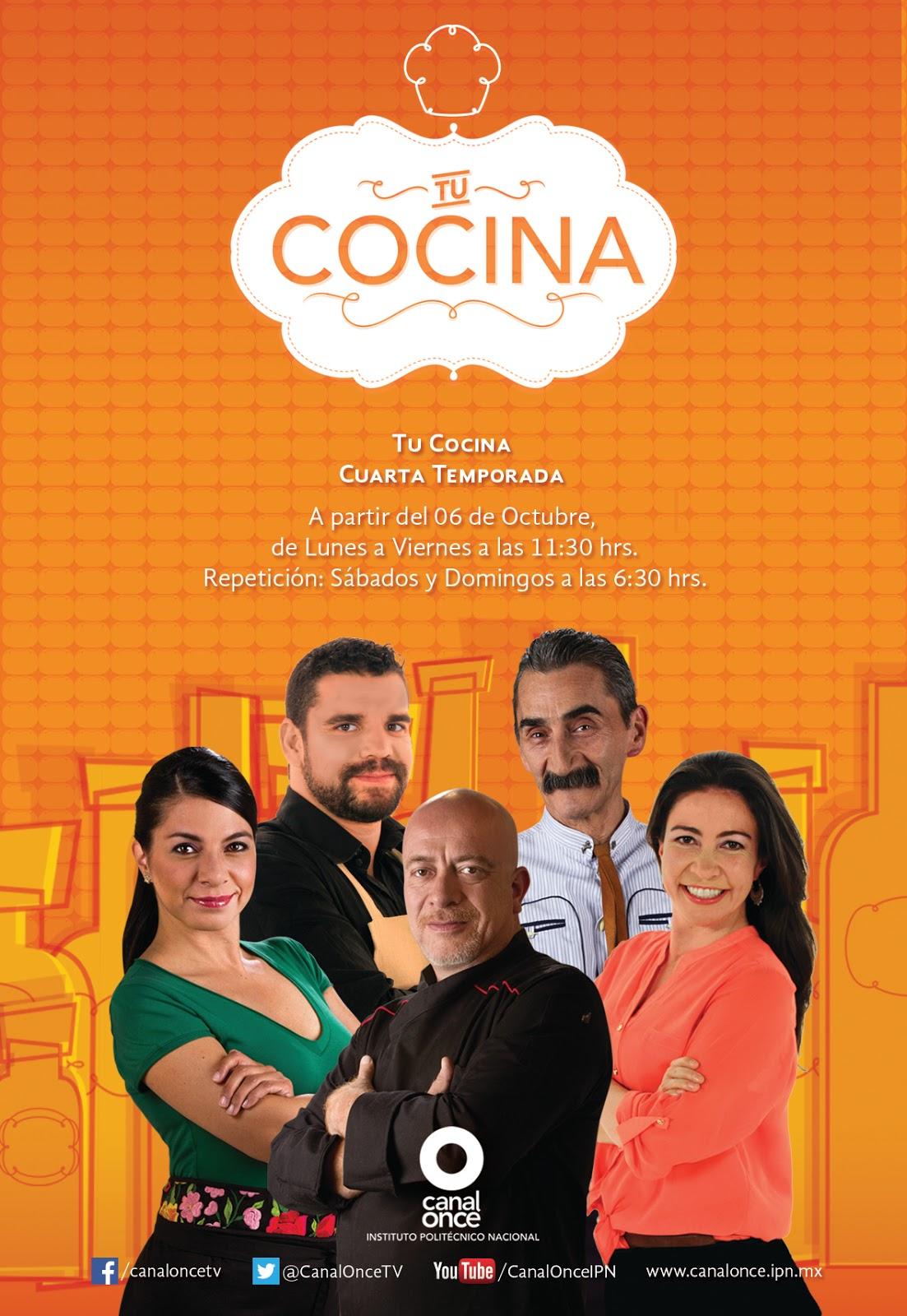 Nueva temporada de tu cocina tvcinews tv de paga for Canal cocina mexicana