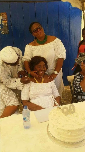 Photo: Jerry Rawlings's Mother celebrates 98th birthday